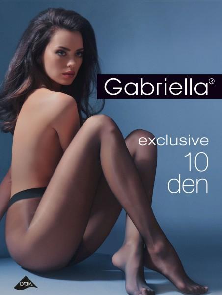 Gabriella - Elegant sheer tights Exclusive, 10 DEN