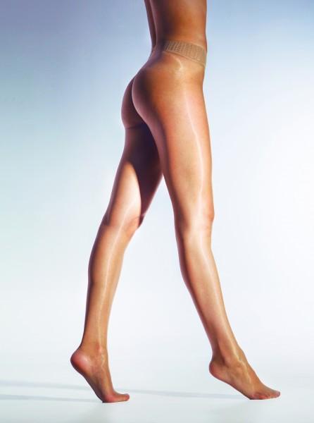 Cecilia de Rafael Sevilla Libero - Gloss seamless tights with elegant waistband