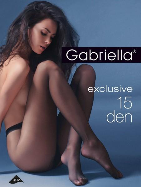 Gabriella - Elegant sheer tights Exclusive, 15 DEN