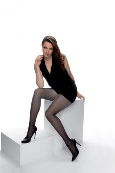 Cette Size Plus Collection - Lurex-effect tights