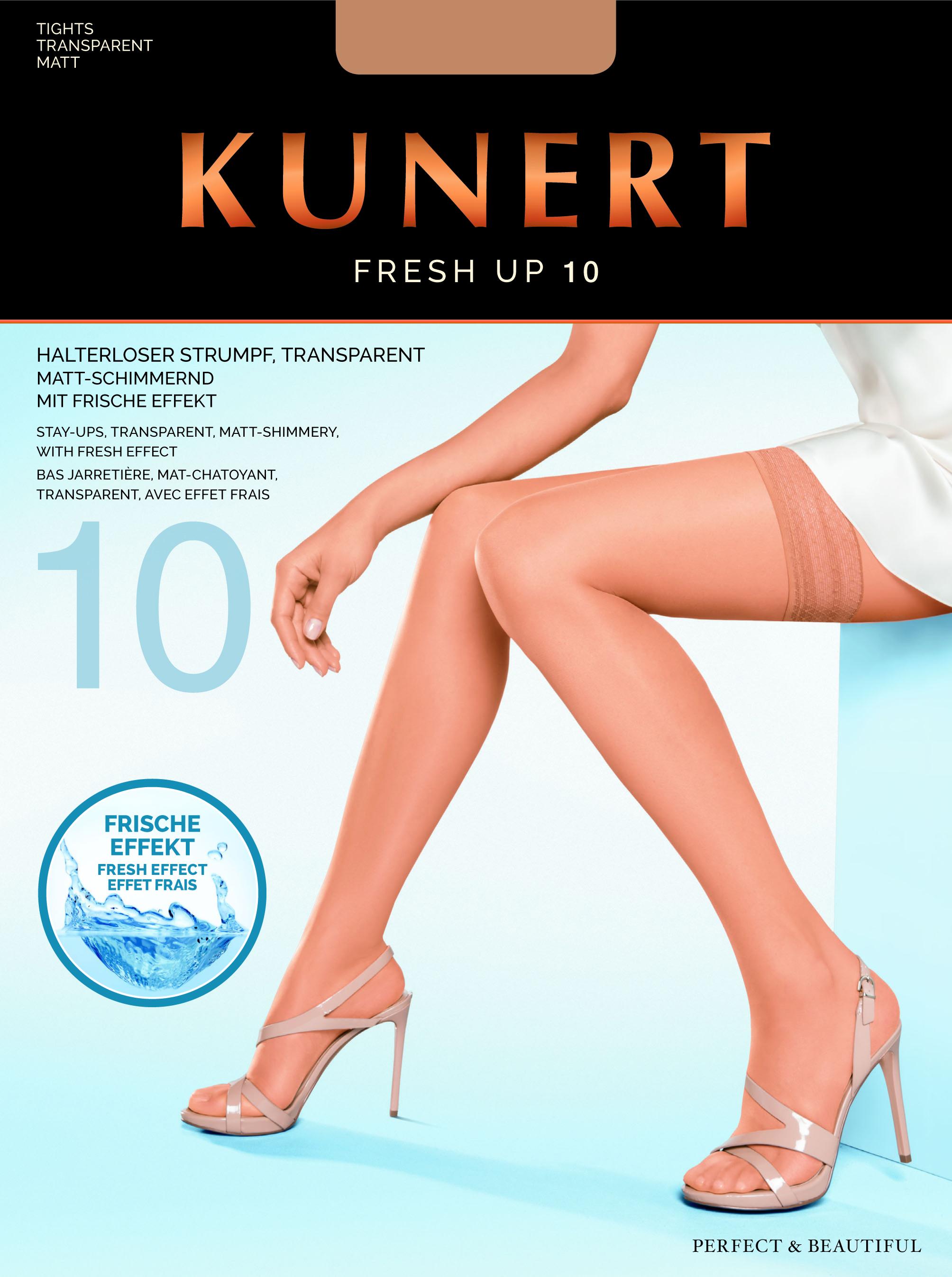 2bc3af70c0ab1 Kunert Fresh Up 10 - Transparent summer hold ups ✅