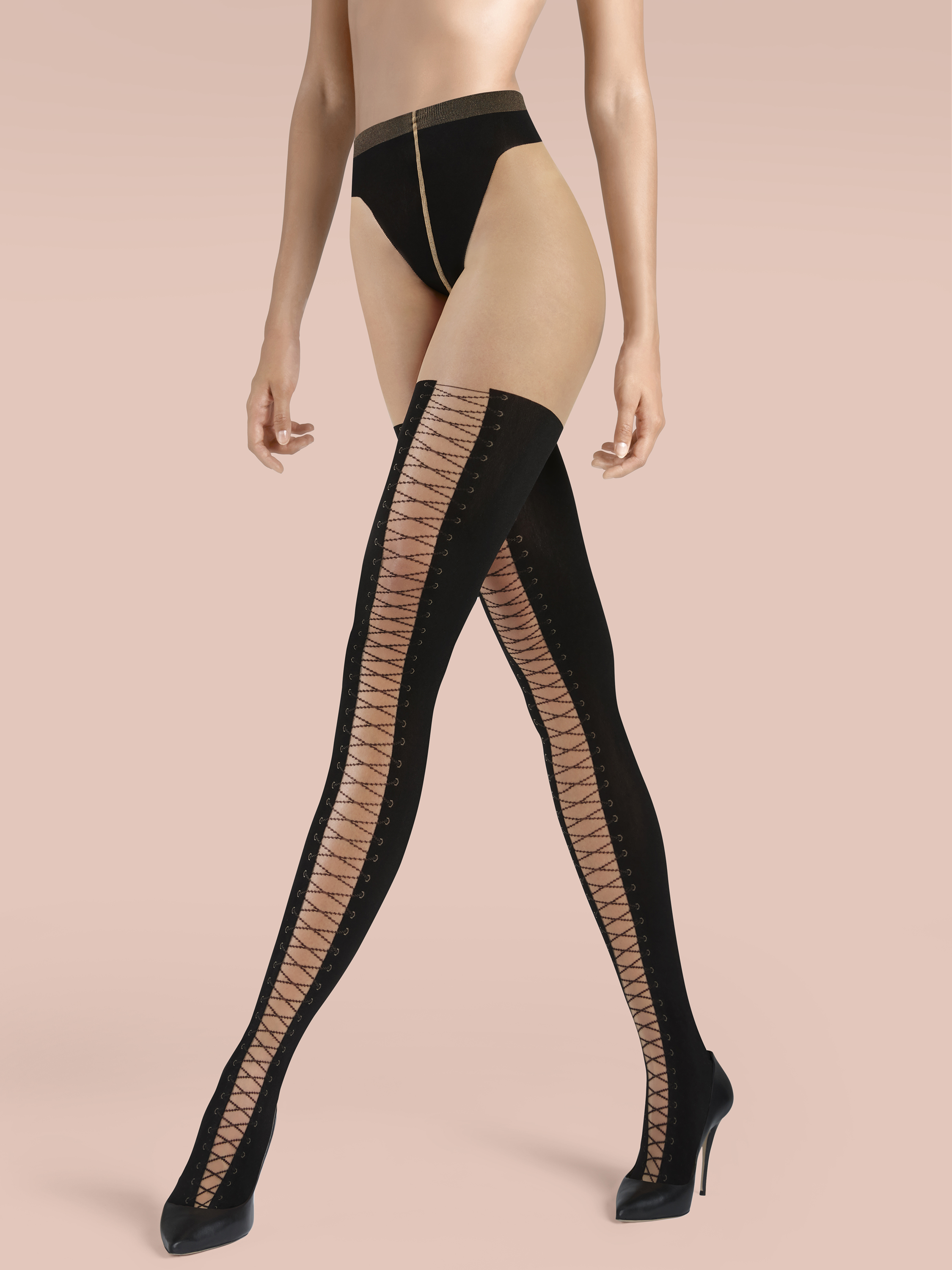 c636571e3681a Mock over the knee tights | Tightsstore US ✅