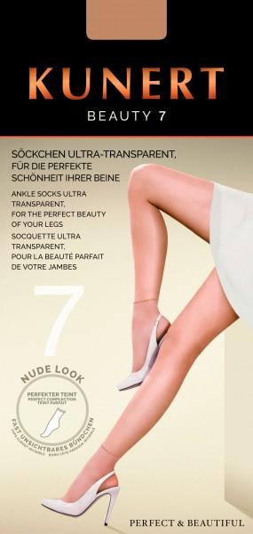 Kunert Beauty 7 - Ultra-transparent nude look summer socks