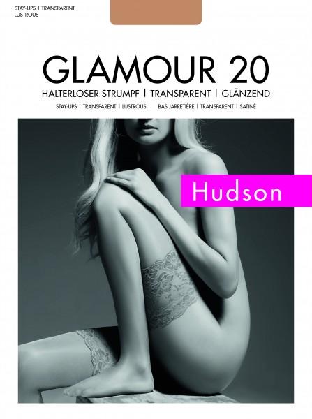Hudson - Elegant glossy hold ups Glamour 20