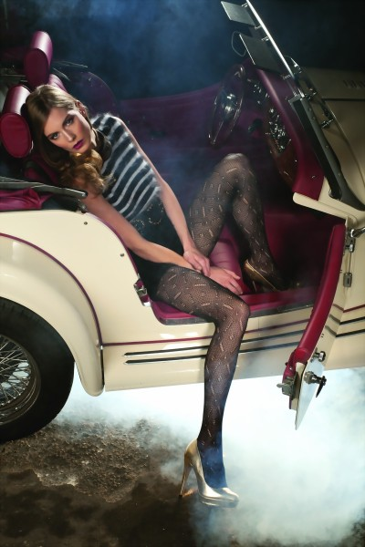 Trasparenze - Stylish openwork patterned tights Playback