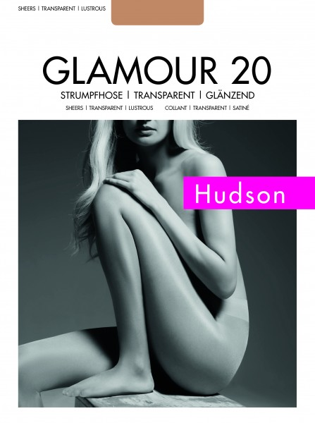 Hudson - Sheer, shiny tights Glamour 20