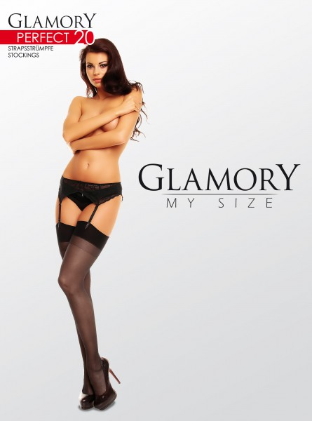 Glamory Perfect 20 - Classic plus size stockings