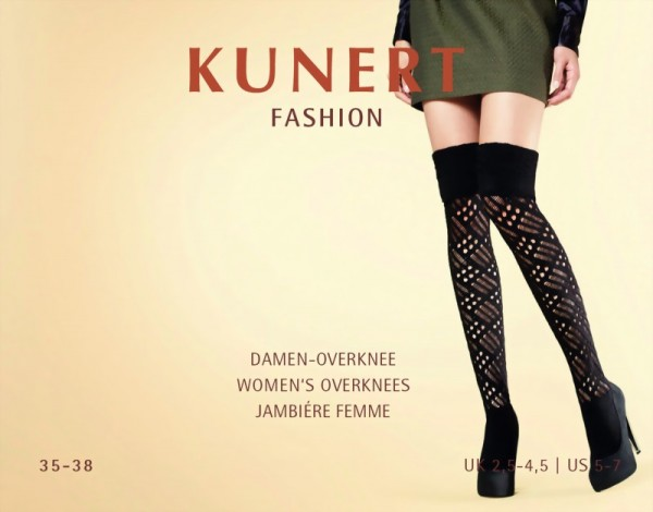 Kunert - Trendy warm winter over the knee socks Society