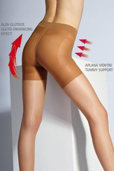 56f4536644458 Cecilia de Rafael - Summer body-shaping tights with push-up effect Sevilla,  15 DEN ✅