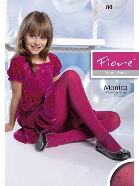 1416f1b04c3d3 Fiore - Opaque childrens tights Monica 120 denier ✅