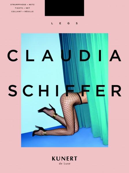 Claudia Schiffer Legs No. 3 KUNERT de Luxe - Fishnet Tights