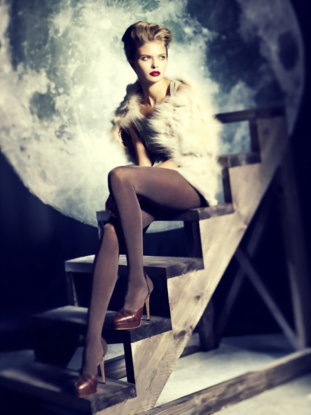 Omero - Opaque glossy tights Eracle 150 denier