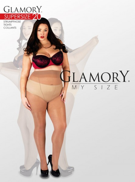 Glamory Supersize 20 - Very large tights