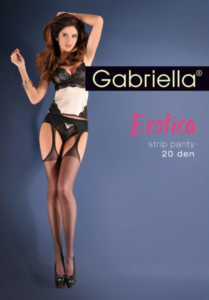 6c78f72a0 Gabriella Strip Panty - Sensuous suspender tights   9989