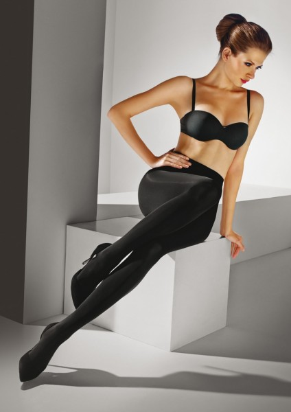 Marilyn - 80 denier opaque glossy tights Satinelle