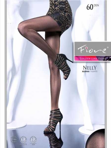 Fiore - Glossy, opaque tights Nelly 60 DEN