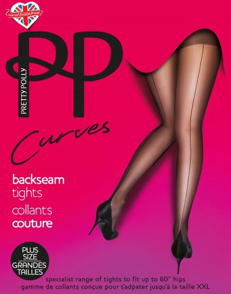Pretty Polly - Curves Backseam Tights