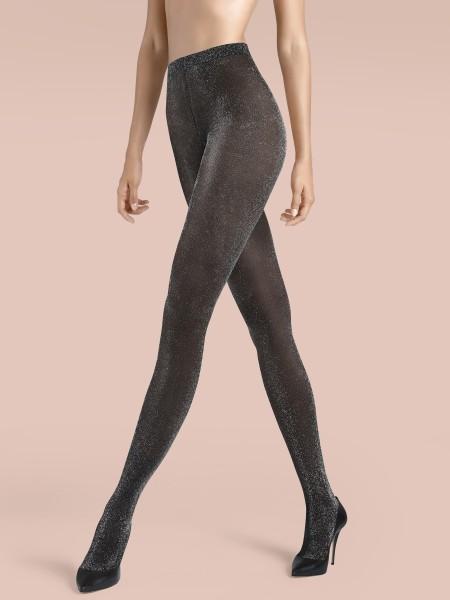 Claudia Schiffer Legs KUNERT de Luxe Lurex-effect Tights