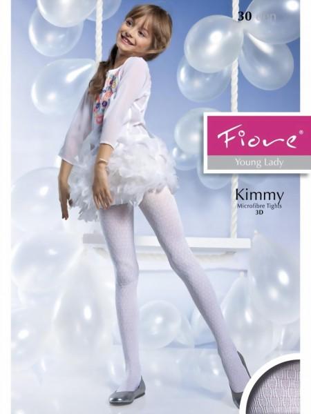 90915c5b8c1a1 Fiore - Elegant patterned childrens tights Kimmy 40 denier ✅
