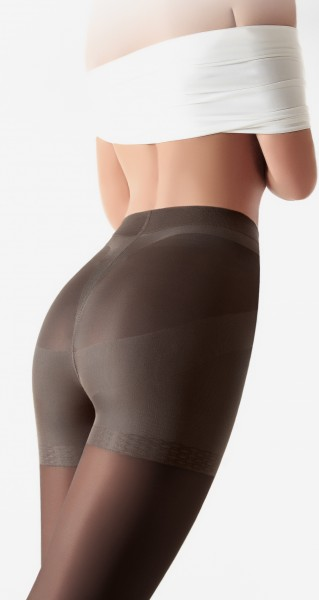 GIULIA Effect Up 70 - Opaque body shaping tights with control top and push-up effect