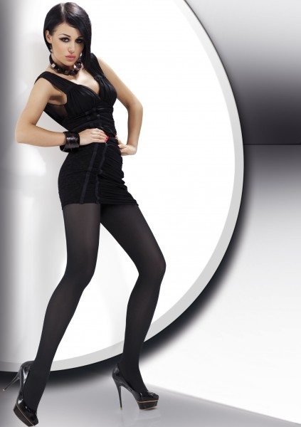 Annes - 40 denier opaque microfiber tights Savana