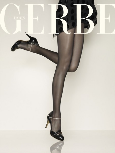 Gerbe - Sheer shiny tights Sunlight 15 DEN
