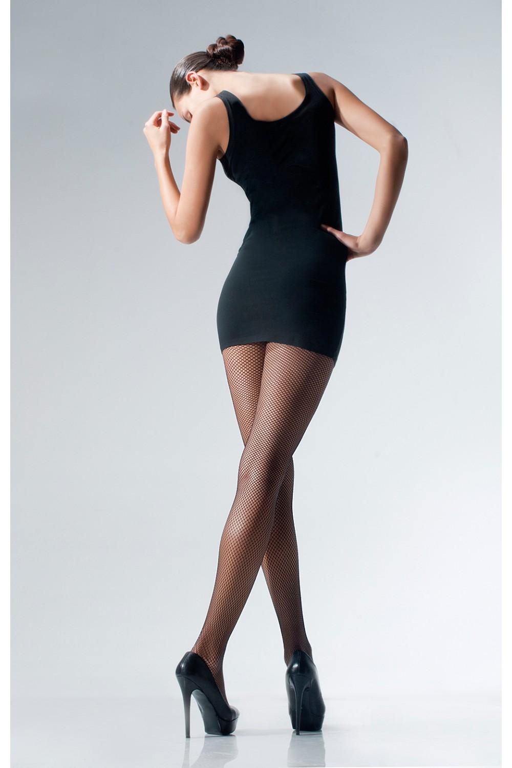 a5f20aa962427 Cecilia de Rafael - Comfortable seamless fishnet tights Rettem ✅