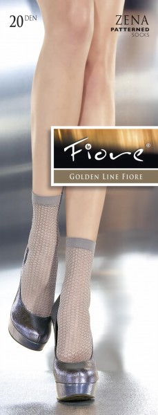 Fiore - Patterned socks Zena 20 denier